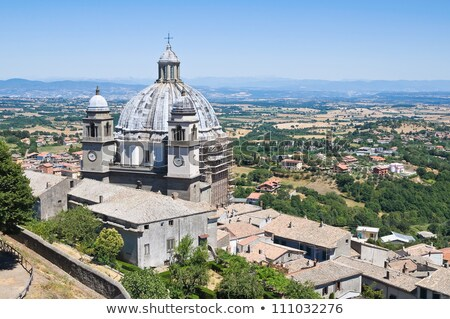 Montefiascone cathedral  Stock photo © LianeM