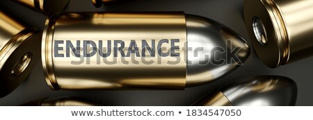 bala · branco · metal · pistola · concha - foto stock © ozaiachin