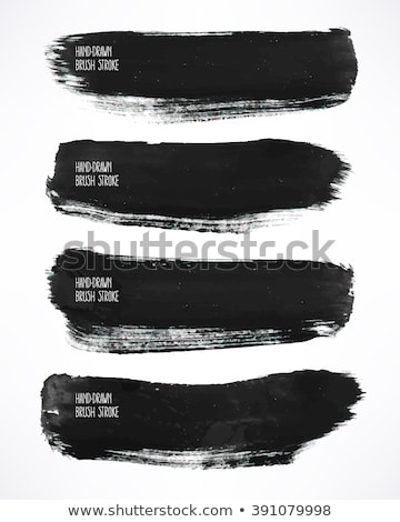 4 Black Splats 4 Stock photo © PokerMan