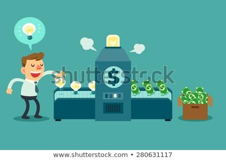Money Machine Stock photo © Lightsource