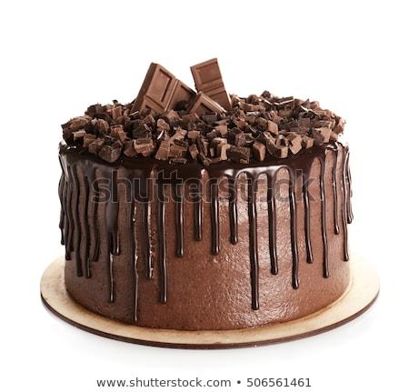 Sweet cake on white Stock photo © vtls