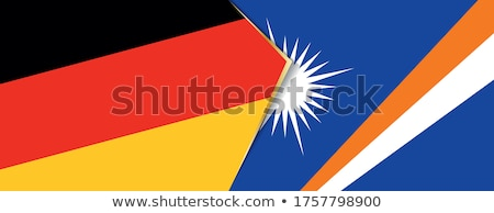 Germany and Marshall Islands Flags Stock photo © Istanbul2009
