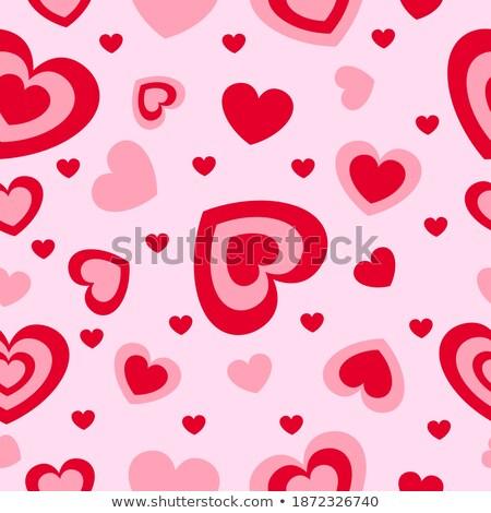 Carta cuore rosso san valentino sfondo vacanze Foto d'archivio © brulove