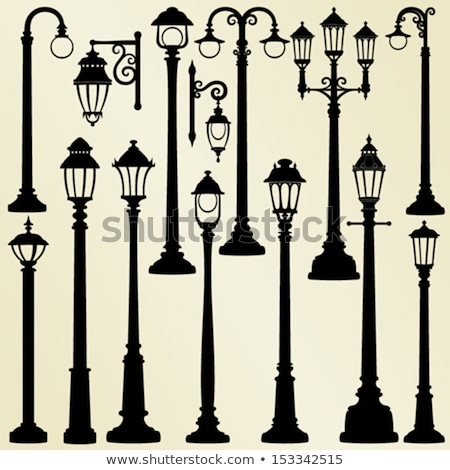 A lamp post Stock photo © bluering
