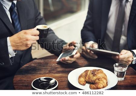 Corporate breakfast. Stock photo © lithian