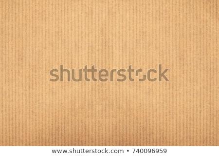 грубая оберточная бумага упаковка пакет судоходства простой горизонтальный Сток-фото © BarbaraNeveu