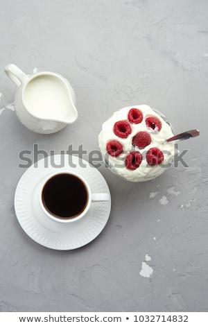 Branco creme jarro vazio limpar Foto stock © Digifoodstock