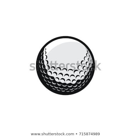 мяч для гольфа Кубок капли зеленый выстрел нижний Сток-фото © 350jb