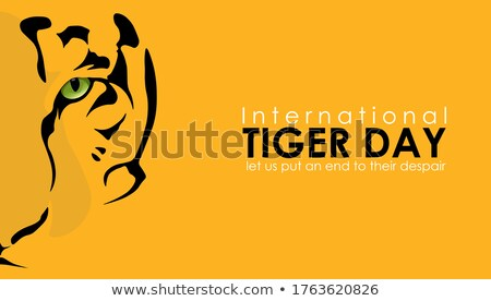 29 july international tiger day stock photo © olena