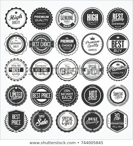 Quality label Stock photo © milsiart
