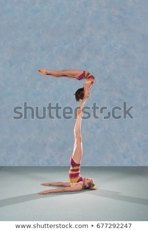акробатический человека спорт природы области Сток-фото © IS2