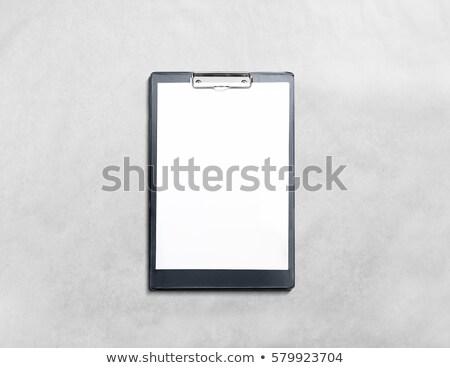 Page holder board mockup template Stock photo © SArts