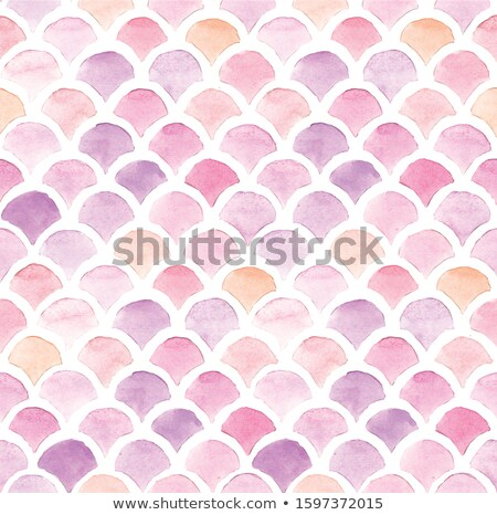 Pink texture. Abstract scale pattern. Roof tiles background. Stock photo © ESSL