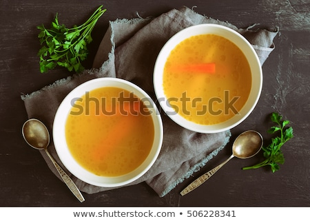 beef and vegetable cooked with broth Stock photo © M-studio
