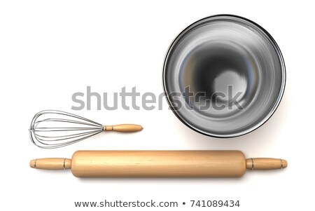 Rozsdamentes acél habaró 3D renderelt kép illusztráció izolált Stock fotó © djmilic