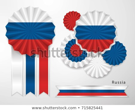 Russia flag on different frames Stock photo © colematt