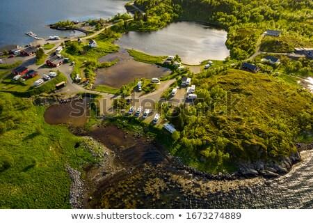 bella · natura · Norvegia · relax - foto d'archivio © cookelma