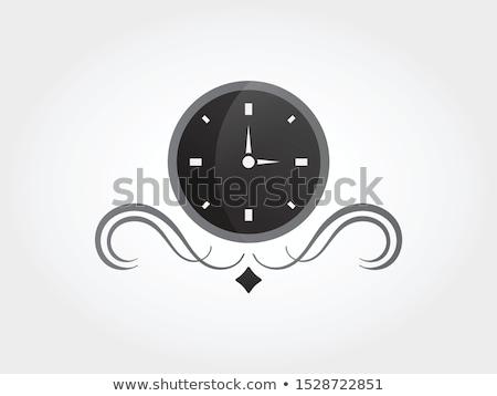 Color vintage watch repair emblem Stock photo © netkov1