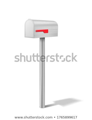 Silver mailbox Stock photo © montego