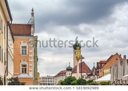 Jesuit Church, Straubing, Germany Stock photo © borisb17