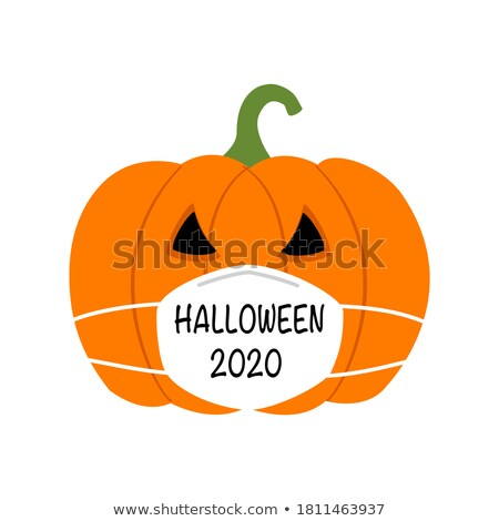 spooky and scary ghost face for halloween festival Stock photo © SArts