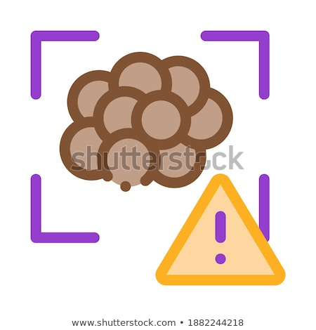 Caviar Attention Icon Vector Outline Illustration Stock photo © pikepicture