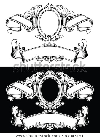 Heraldic composition Stock photo © ensiferrum
