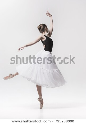 Young ballerina in classic tutu dress Stock photo © boggy