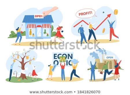 Disaster Recovery. Business Continuity Plan After Crisis. Stock photo © olivier_le_moal