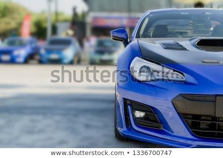 Velho carros leilões pessoas venda caro Foto stock © lightpoet