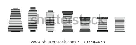 Hilo icono vector ilustración Foto stock © pikepicture