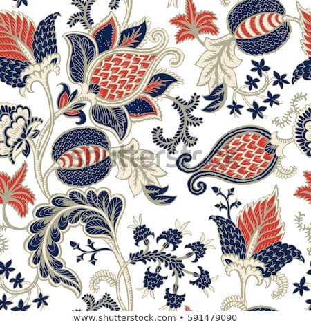 Seamless Tribal Background for Textile Design. Stock photo © Margolana