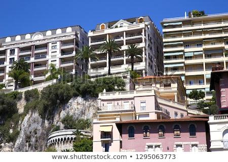 Luxo moderno casa mediterrânico costa Foto stock © Anneleven