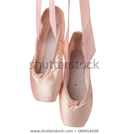 Two pairs ballet baby footwear Stock photo © RuslanOmega