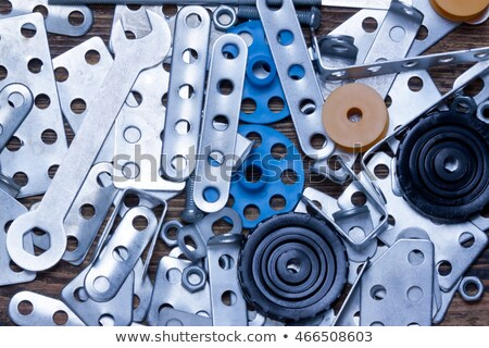 Various metal cogwheels Stock photo © orson