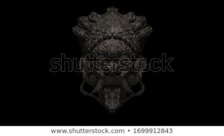 鬼 古い 寺 バリ 島 インドネシア ストックフォト © joyr