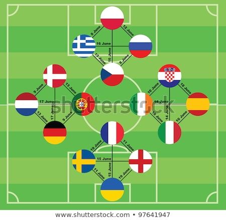 Euro 2012 matches Stock photo © m_pavlov