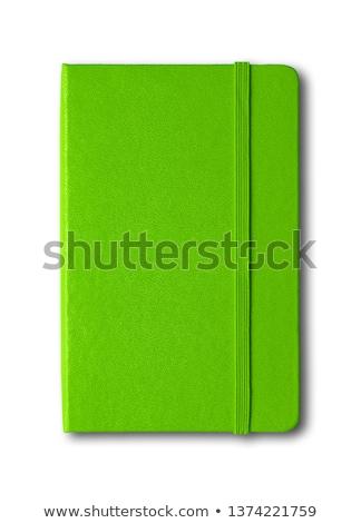 Green Notebook ストックフォト © Daboost