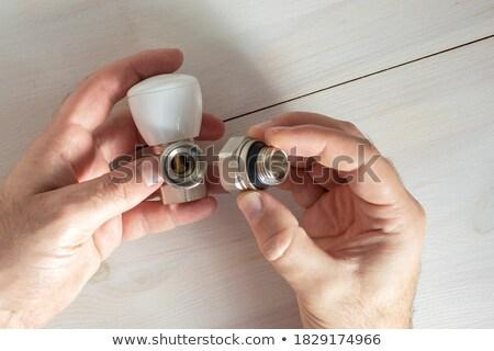 su · tesisatı · yalıtılmış · beyaz · su - stok fotoğraf © photography33