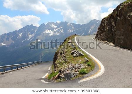 узкий горные дороги святой Нидерланды складе Сток-фото © FER737NG