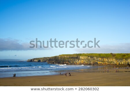 ballybunion beach on a cold winters day  Stock photo © morrbyte