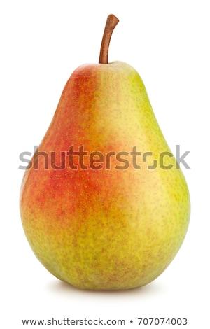 Sweet один груши белый фрукты Сток-фото © Masha