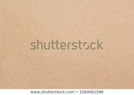 ブラウン カートン セピア 段ボール テクスチャ 背景 ストックフォト © MiroNovak
