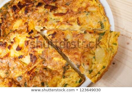 картофеля · кетчуп · бумаги · продовольствие · приготовления · быстро - Сток-фото © m-studio