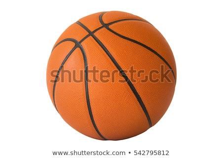 Baloncesto aislado blanco pelota Foto stock © monticelllo