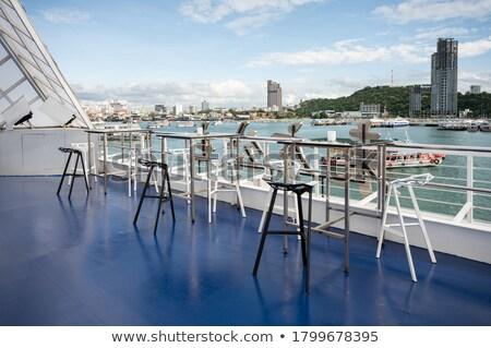 空っぽ 屋上 レストラン 海 ビーチ ストックフォト © RuslanOmega