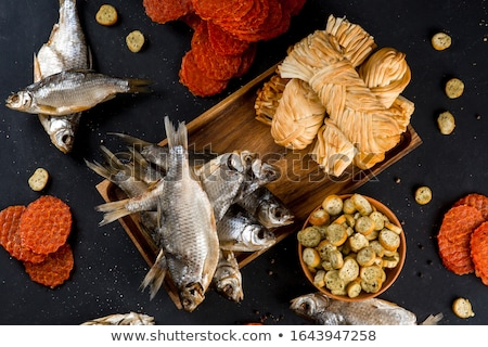 Dried Fish Stock photo © leungchopan