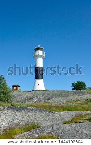 Lighthouse on the Baltic archipelago, Sweden Stock photo © RAM