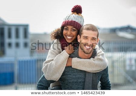 multiracial couple stock photo © disorderly