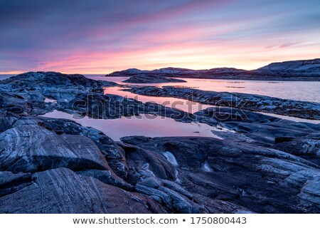 Rock formations at the coast Stock photo © bmonteny